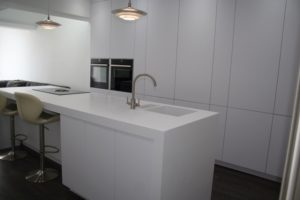 Kitchen Corian Worktop with Sink