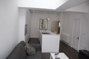 View from Sitting Area of Kitchen in Leeds
