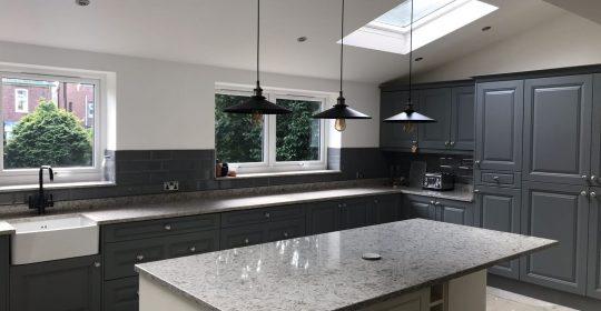 Luxury solid worktops