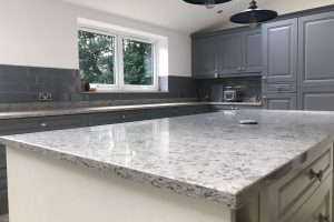 Luxury solid worktop Kitchen
