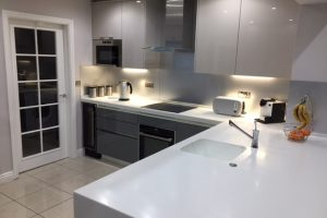 Snow Pearl Toppmax Acrylic Worktops