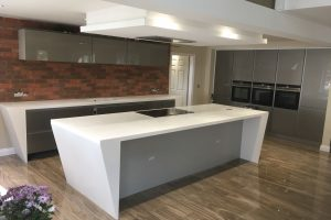 Staron Yukon Metallica Kitchen Worktops