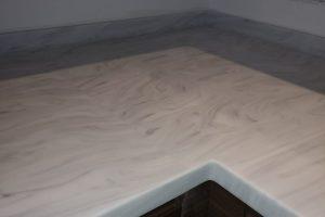 Luna Cararra Coloured Kitchen Worktop
