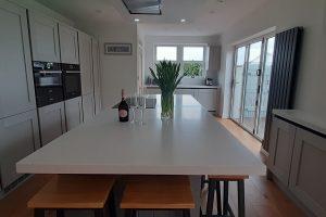 Corian coloured Everest Kitchen Worktop
