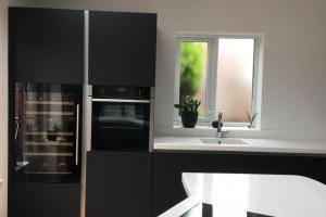 Corian Worktop in Modern Kitchen