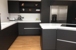 Modern Kitchen with Corian Worktops